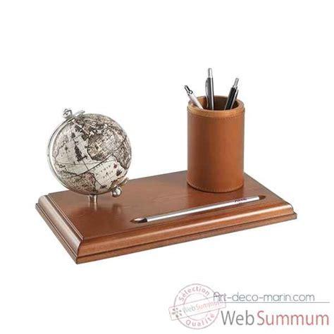 bureau mappemonde mappemonde de bureau avec compartiment pour stylos zoffoli