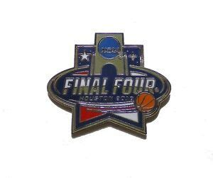 mens basketball lapel pin final  houston tx