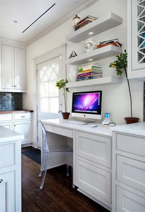 Built In Kitchen Desk   Design, decor, photos, pictures