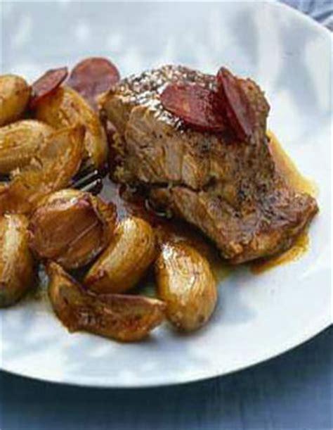 nouvelles recettes de cuisine epaule d 39 agneau confite pommes de terre nouvelles au