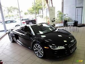 Phantom Black Pearl Effect 2011 Audi R8 Spyder 5.2 FSI ...