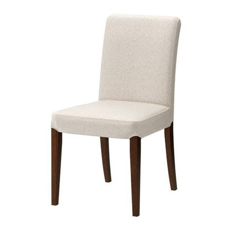 henriksdal chair with long cover birch blekinge white