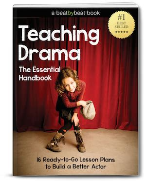 teaching drama to kids 16 lesson plans for instant download