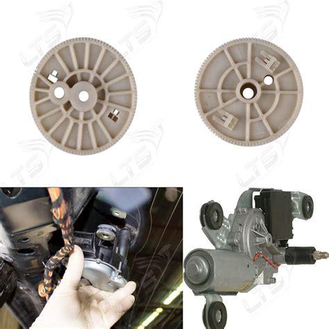 bmw e46 stoßstange bmw e46 heckscheibenwischer stange motor reparatur zahnrad ebay