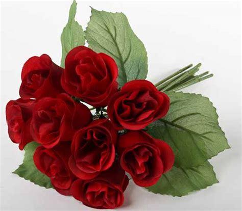 red artificial rose bundle bushes bouquets floral