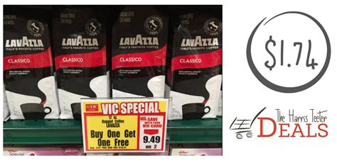 Need Coffee? Lavazza Ground Coffee Just .74 {after Metal Coffee Table Base Kit Tables For Sale In Rustenburg Large Arabic Pot Kettle Brisbane Garden Kijiji Set