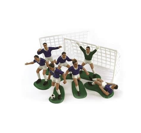 decoration gateau anniversaire football d 233 cor en plastique football pour d 233 coration de g 226 teau