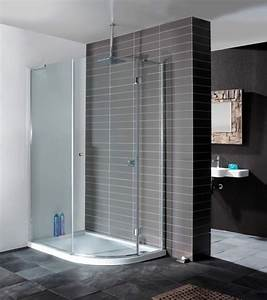 Contemporary minimal enclosure from Simpsons. #grey tile # ...