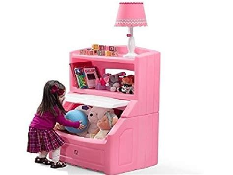 Step2 Lift And Hide Bookcase Toy Box Storage Chest For