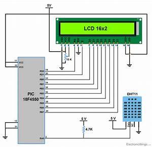 Dht11 Sensor Interfacing With Pic18f4550