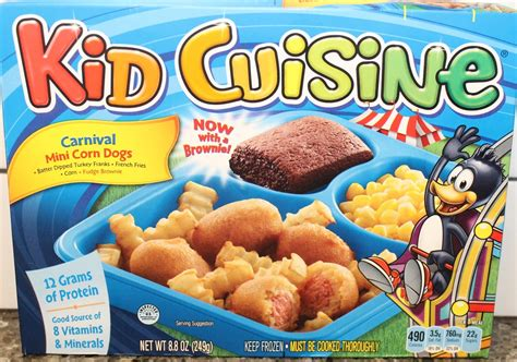 Kid Cuisine Carnival Mini Corn Dogs Review Youtube