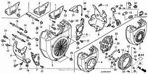 Honda Engines Gx620k1 Qxa Engine  Jpn  Vin  Gcad
