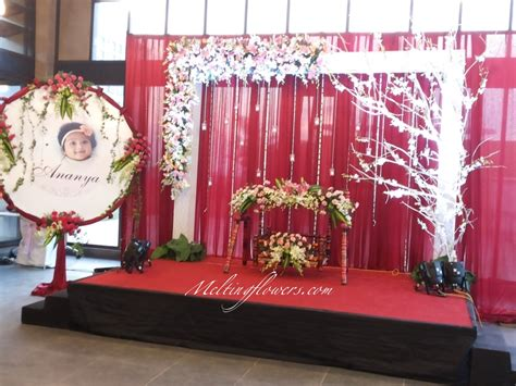 naming ceremony decoration ideas from the best flower decorators in bangalore wedding