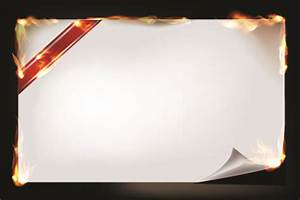 Wedding Powerpoints Burning Paper Roll Vector Background 02 Free Download