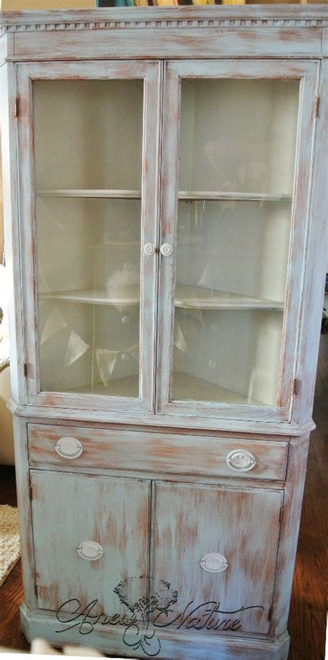 shabby chic corner hutch pin by erica stutte karleskint on anew nature pinterest