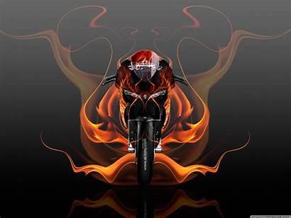 Ducati 1199 Abstract Bike Fire Kokhan Tony