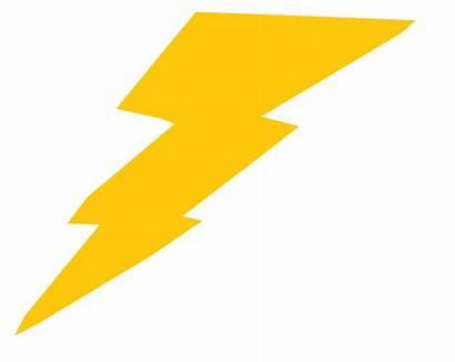 Lightning Bolt Clipart Clip Transparent Yellow Thunder