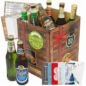 Coffret Cadeau Biere Du Monde : biergeschenk bester freund der welt leckeres geschenk f r freunde ~ Teatrodelosmanantiales.com Idées de Décoration