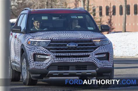 ford explorer interior revealed   spy pictures