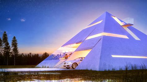 pictures pyramid home plans pyramid shaped house makes you feel like an ancient