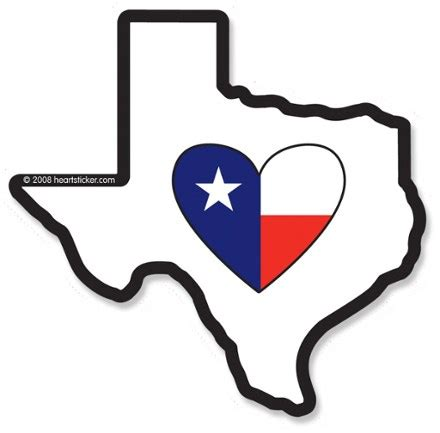 heartstickercom heart  texas sticker rei  op