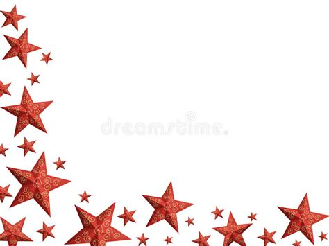 stelle clipart stelle rosse luminose di natale isolate illustrazione di