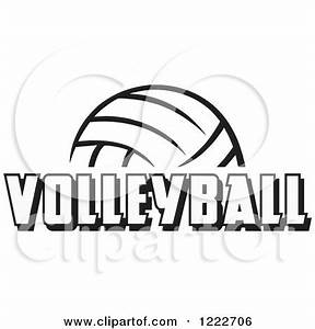 Royalty-Free (RF) Volleyball Clipart, Illustrations ...