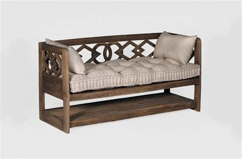 Unique Benches For Sale by Antique Transitional Unique Seating Modena Bench
