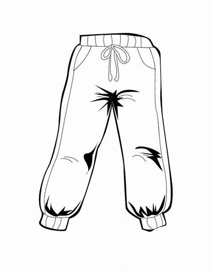 Clipart Pants Coloring Winter Snowpants Snow Colouring