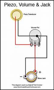 Volume Potentiometer Wiring Diagram - Gambarin Us