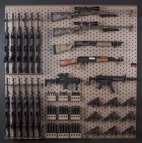 wall gun rack gun rack components