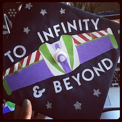 diy pixar inspired graduation cap ideas  disney fans