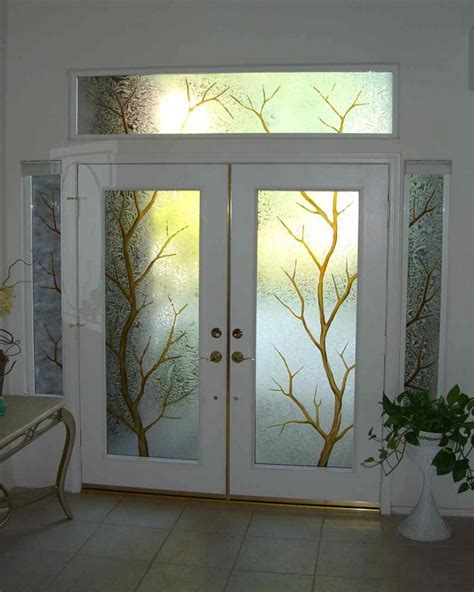 Glass Entry Doors For Home front door glass 17 home improvement ideas for you