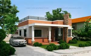 home design by rommell one storey modern with roof deck eplans modern house designs small house