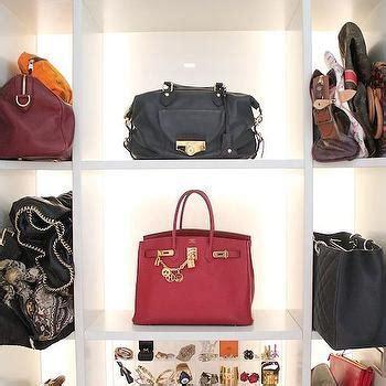Handbag Display Cabinet   Transitional   closet   Amory Brown