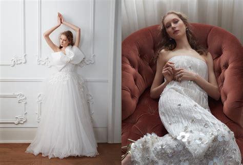 Sandra Martens Poses In Dreamy Wedding Dresses For Vogue