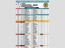 Salió el fixture completo de la Libertadores Deportes
