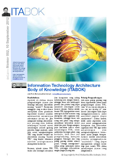 information technology architecture body