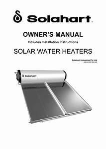 Solahart Manual