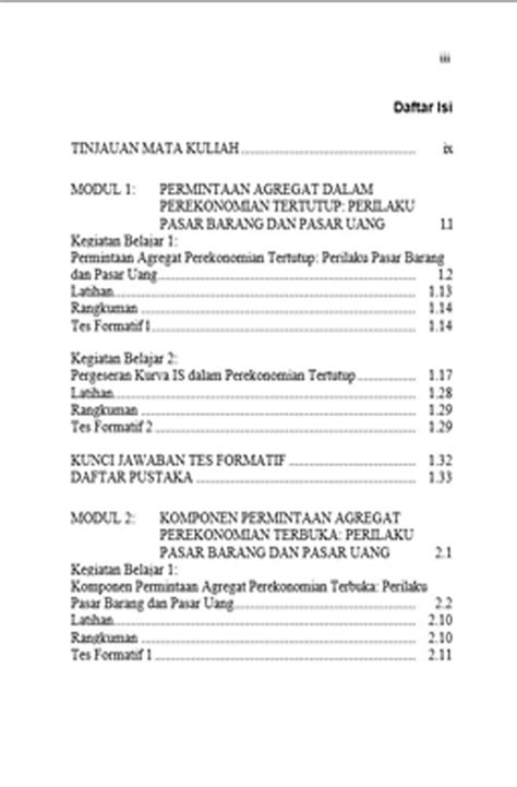 Teori Ekonomi Makro Lanjutan - Universitas Padjadjaran