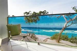 Brise Vue Decoratif Exterieur : brise vue balcon d coration ext rieure de votre terrasse ~ Nature-et-papiers.com Idées de Décoration