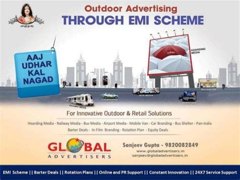 Excellent Innovative Banner Ads In Mumbai  Global Advertisers