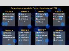 Copa Libertadores Así quedan los grupos de la Copa