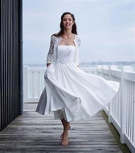 photo robe de mariee mi longue marie laporte modele With robe de mariée mi longue