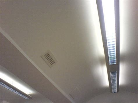 the ceiling lights that provide access