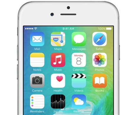iphone default apps grab the gorgeous ios 9 default wallpaper
