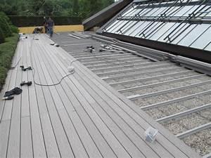 Lambourde Terrasse Composite : pose lambourde composite lambourde composite anthracite ~ Premium-room.com Idées de Décoration