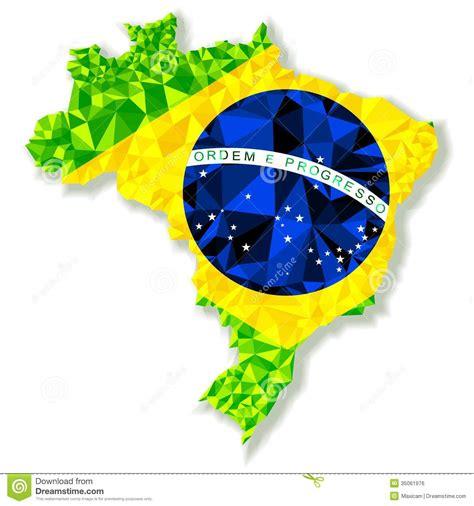Vector Illustration Of Brazil Isolated Stock Vector  Illustration Of Modern, Country 35061976