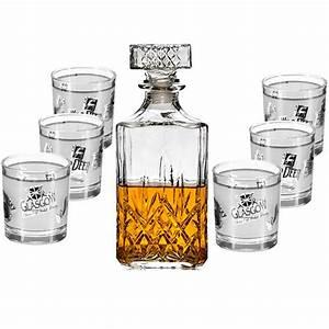 Coffret Whisky Avec Verre : service whisky avec carafe et 6 verres ~ Teatrodelosmanantiales.com Idées de Décoration