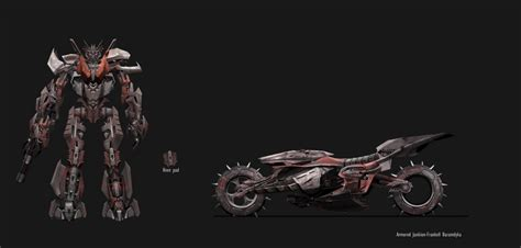 in a novel transformers 3 concept image